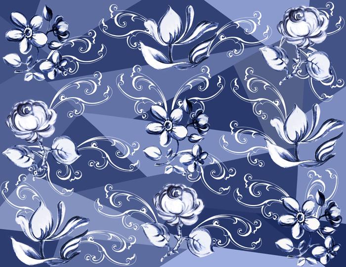 Formas e flores