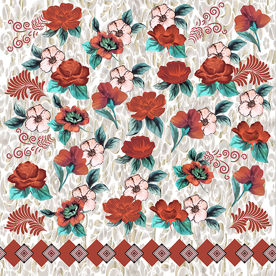 Flores e barra