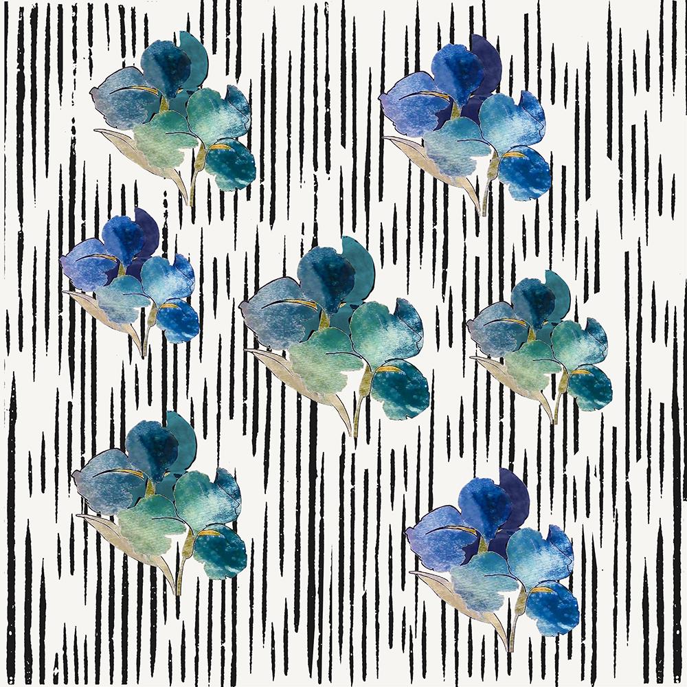 orquidea azul e verde